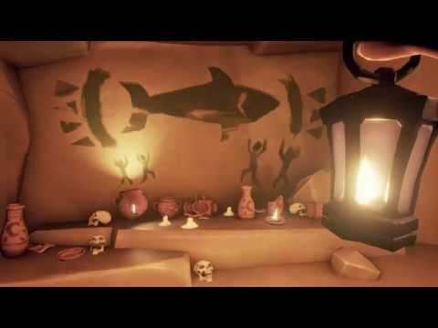 Sea of Thieves scale test - Shark Bait Cove