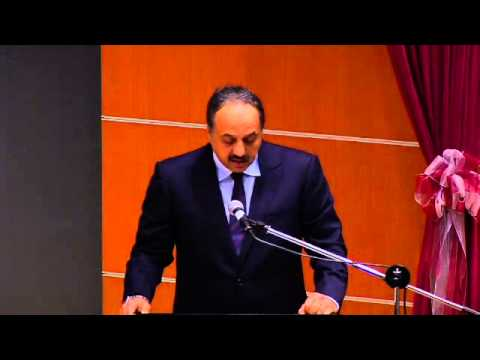 His Excellency Dr. Khalid bin Mohammad Al Attiyah's address at Peace and Security Forum 2013