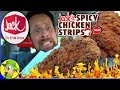 Jack In The Box® | NEW Spicy Chicken Strips Review 🌶️🔥🐔 | Peep THIS Out! 😋