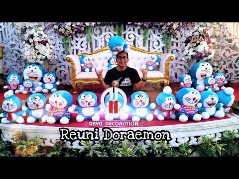 Dekorasi Pernikahan Doraemon Arya Decoration