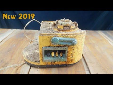 Very Old Blender Machine 220 Volt Electric Juicer Restoration