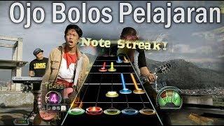 Ojo Bolos Pelajaran Play Guitar Hero 3