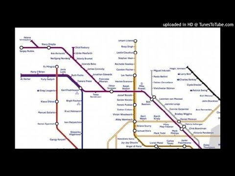 The Tube Olympics by Jo Scott
