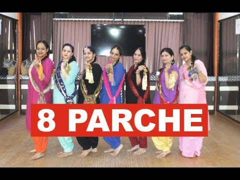 8 Parche | Easy Bhangra Dance Steps | Choreography Step2Step Dance Studio, Mohali | Baani Sandhu