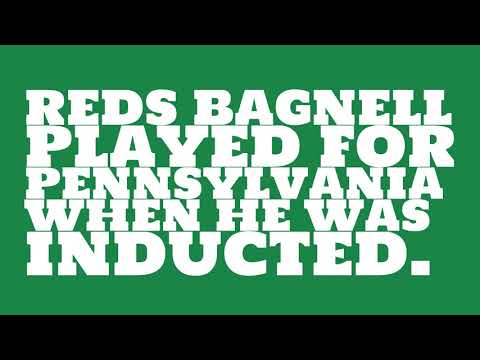 Who did Reds Bagnell play for?