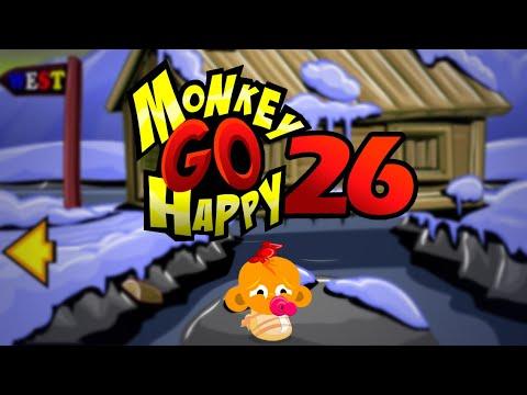 """Игра """"Счастливая Обезьянка 26"""" (Monkey GO Happy 26) - прохождение"""