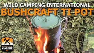 Wild Camping International Bushcraft Titanium Pot