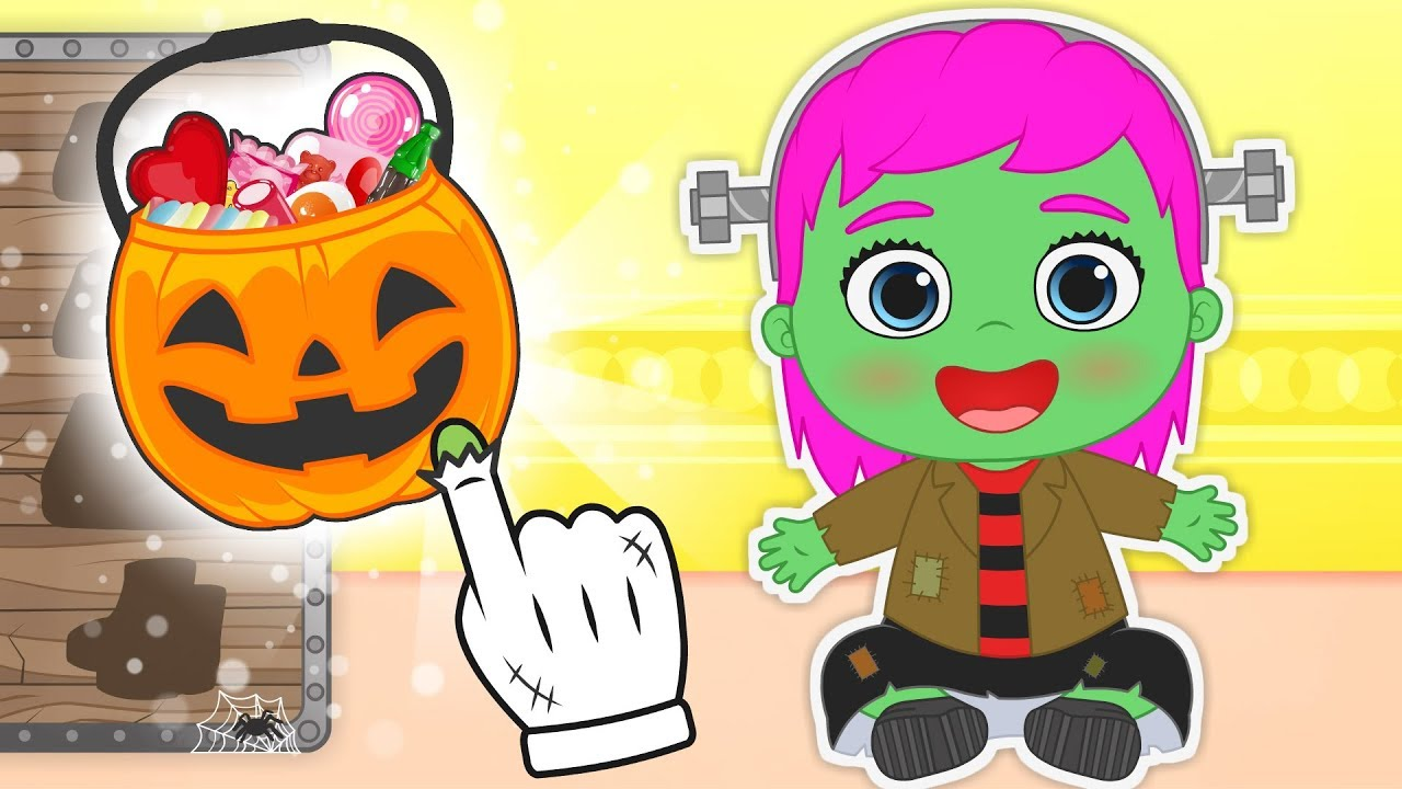 baby-lily-dresses-up-as-frankenstein-for-halloween-cartoons-for-kids