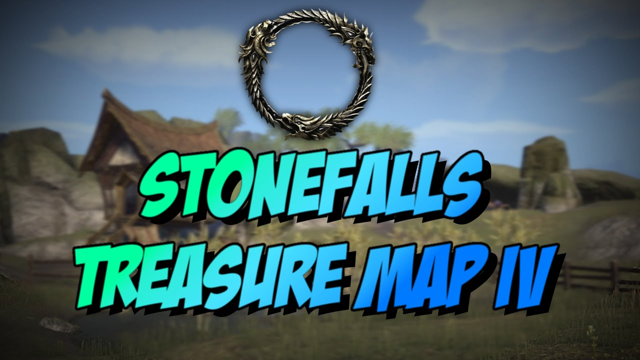ESO] Elder Scrolls Online: Stonefalls Treasure Map IV(4) Location ...