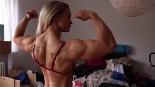 Angelica Enberg- Divine muscles, divine flexing, divine beauty!!!