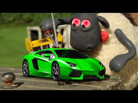 NEW Shaun The Sheep Full Episodes! BEST FUNNY PLAYLIST - Cartoons For Kids 2017 Part 1