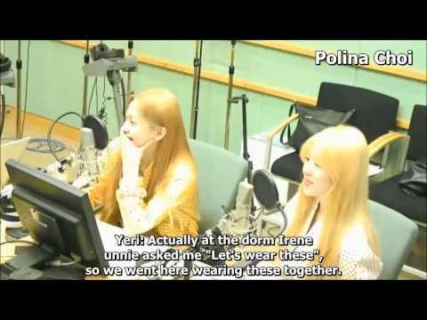 ENG SUB 150324 Yeri & Irene Red Velvet talking about Minho's gift