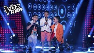 Juanse, Robert y David Tarapues cantan Traicionera | La Voz Kids Colombia 2018