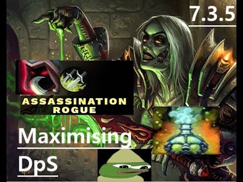 Assassination Rogue Guide AoE & Single Target Rotation  7.3.5       How to Maximise DpS