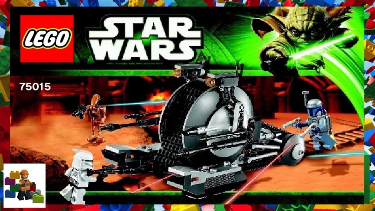 Lego Instructions Star Wars 75015 Corporate Alliance Tank