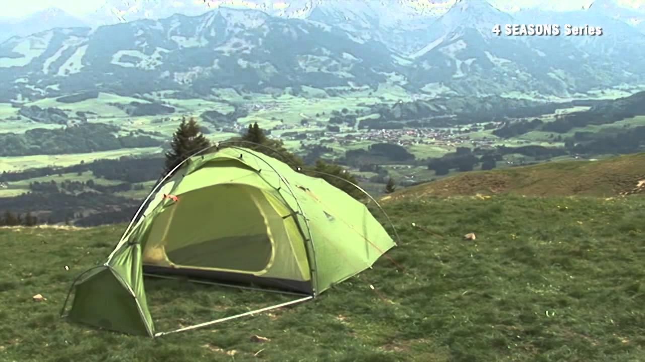 mark xt 4 personen set up vaude youtube