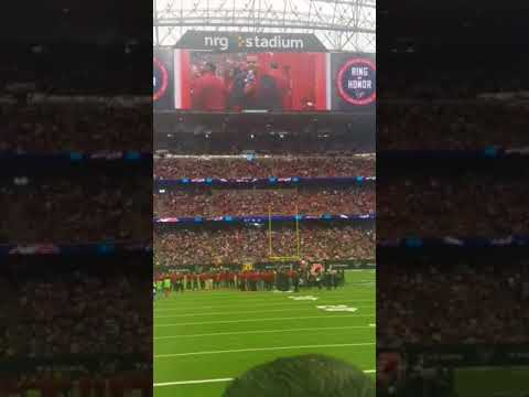 Andre Johnson's Texans Ring of Honor Ceremony