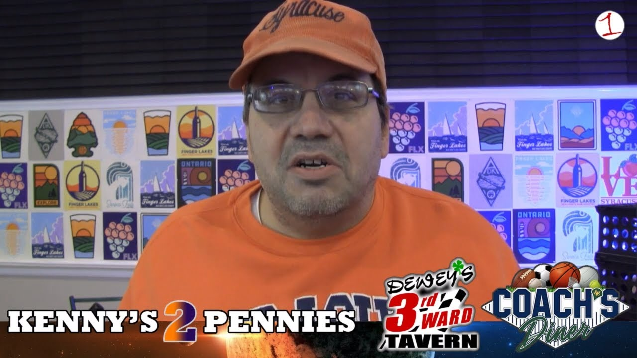 KENNY'S 2 PENNIES: Syracuse Orange's horrific weekend, Tim Green ALS diagnosis & Joey Logano wins series title (podcast)