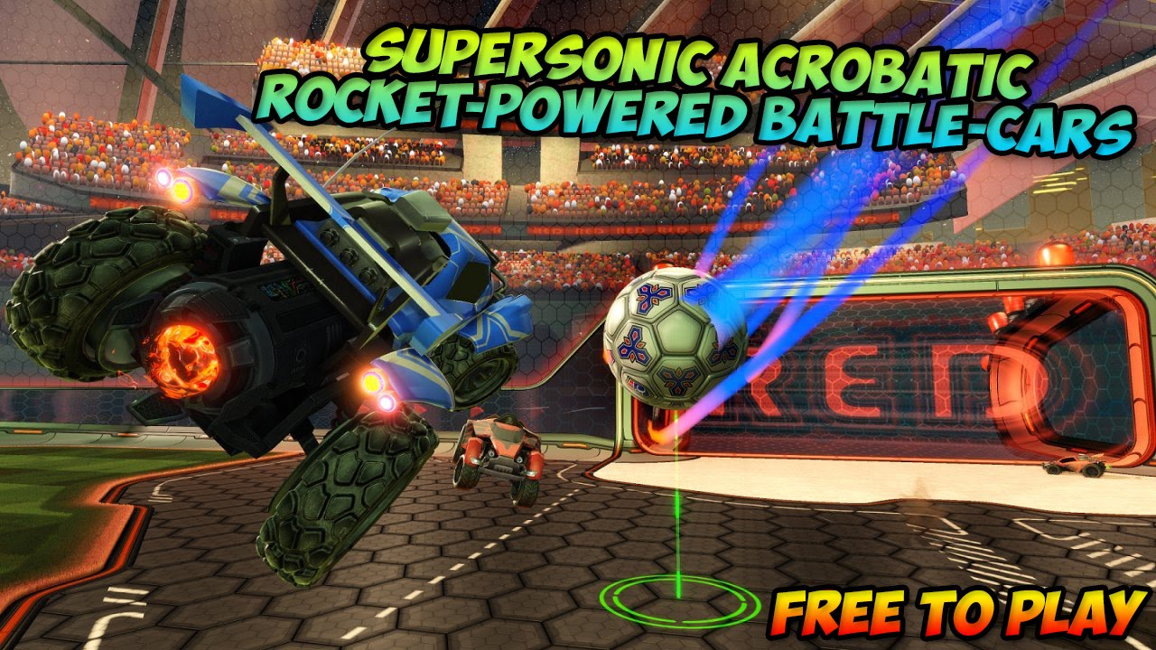 Supersonic Acrobatic Rocket Powered Battle Cars Free To Play Ps3 Youtube