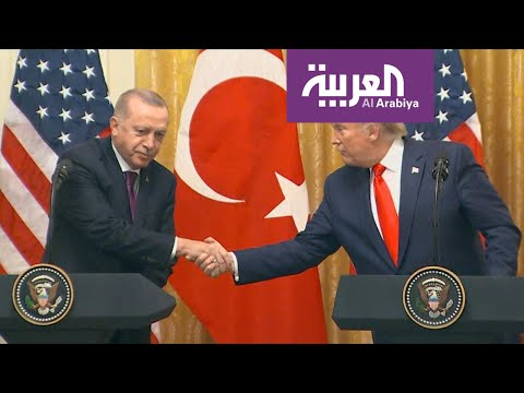 احتجاجات أمام البيت الأبيض منددة بزيارة أردوغان  - 05:57-2019 / 11 / 14