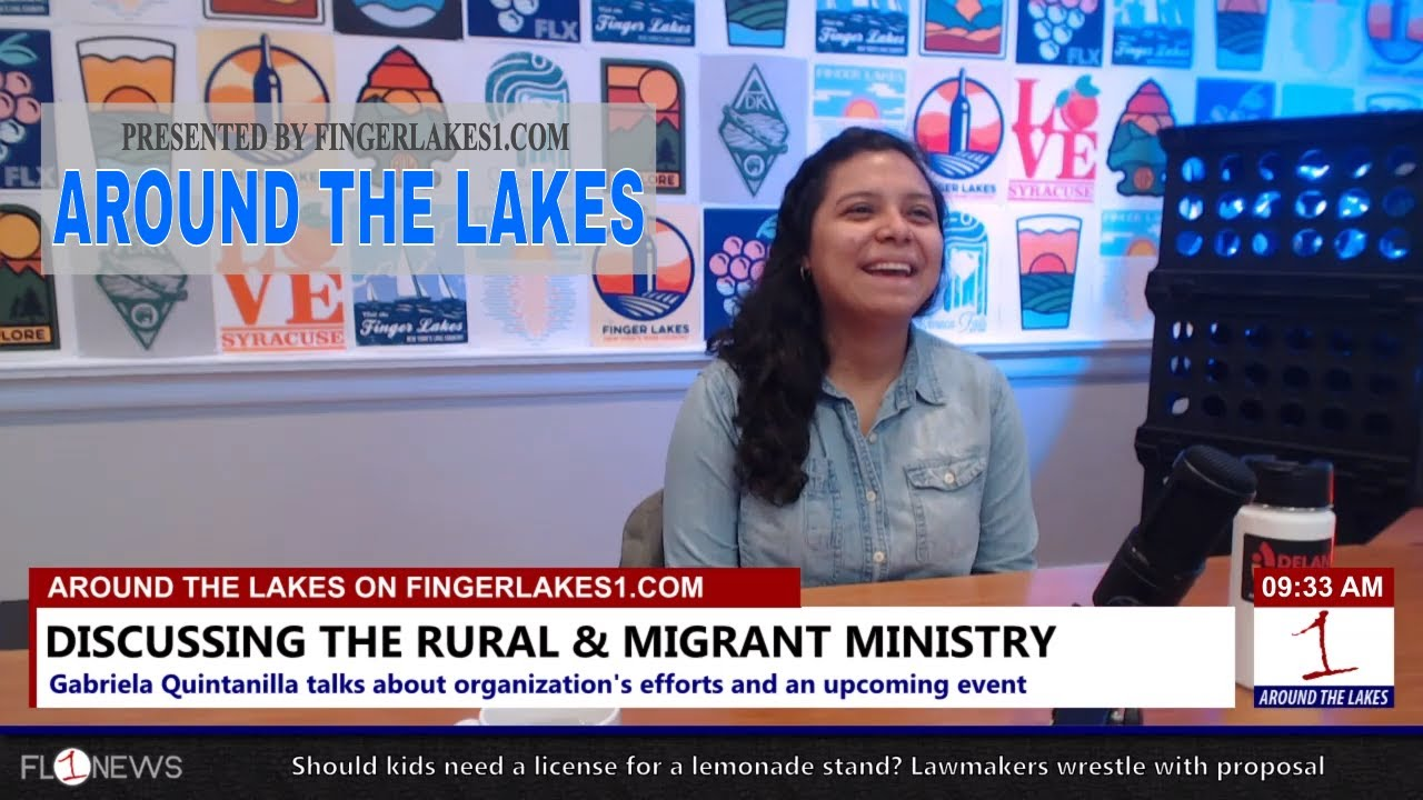 AROUND THE LAKES: Local impact of Rural & Migrant Ministry (podcast)