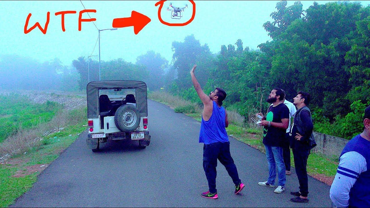 Drone rescue: STUCK mid-air!! DJI Phantom 4 Pro+ India