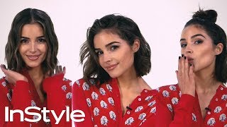 Olivia Culpo and Justine Marjan Show Us 3 Ways to Style A Bob | InStyle