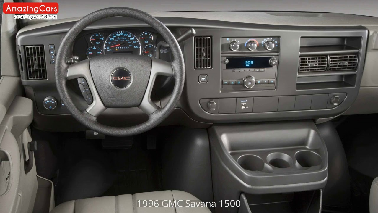 1996 gmc savana 1500