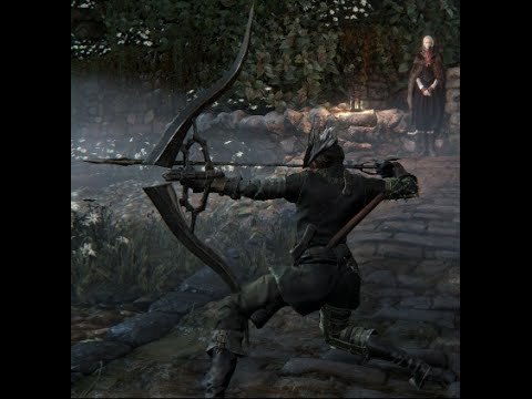 Bloodborne Simon's Bowblade Gameplay