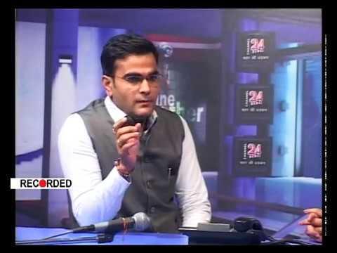 Channel 24+ News Medi Talk Dheeraj Soni (Dentist) 13-08-17
