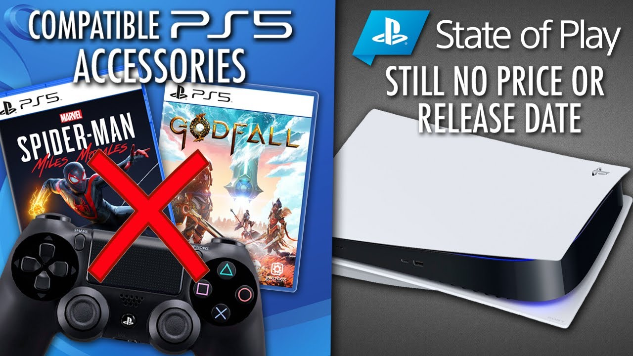 PS4 Controllers Won't Work For PS5 Games. *New* PS5 Leak That's Accurate? State of Play Confirmed