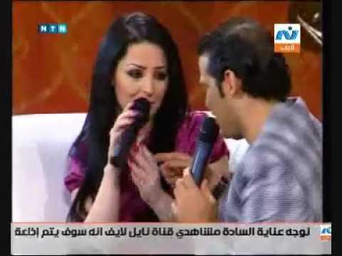 فضيحة سعد وكرزون بالتليفزيون شاهدوا الفيديو