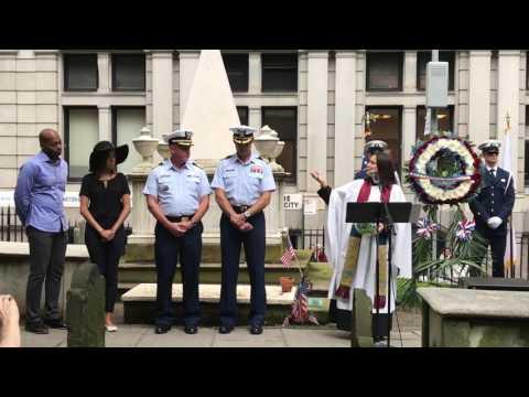 Coast Guard Cutter Hamilton with Broadway musical Hamilton honor Coast Guard founder