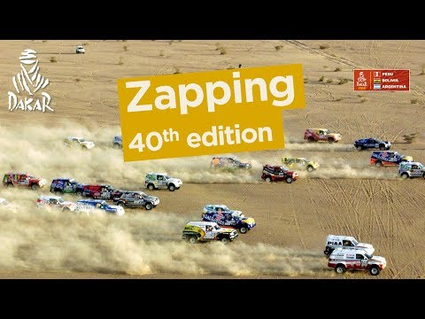 Zapping - 40th edition - Dakar 2018