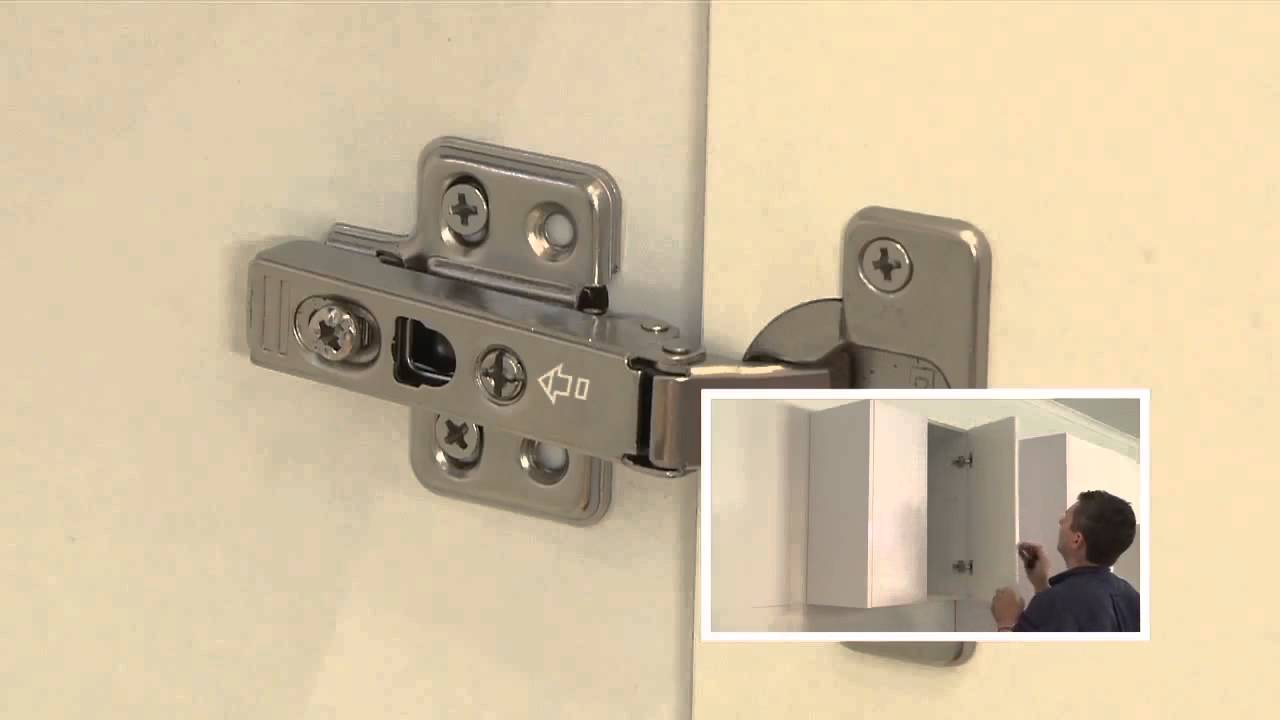 Attaching doors and adjusting hinges | kaboodle kitchen ...