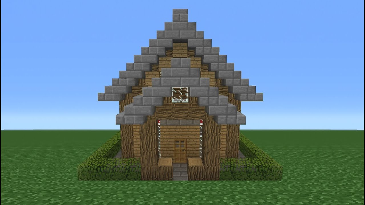minecraft tutorial how to make a small survival house