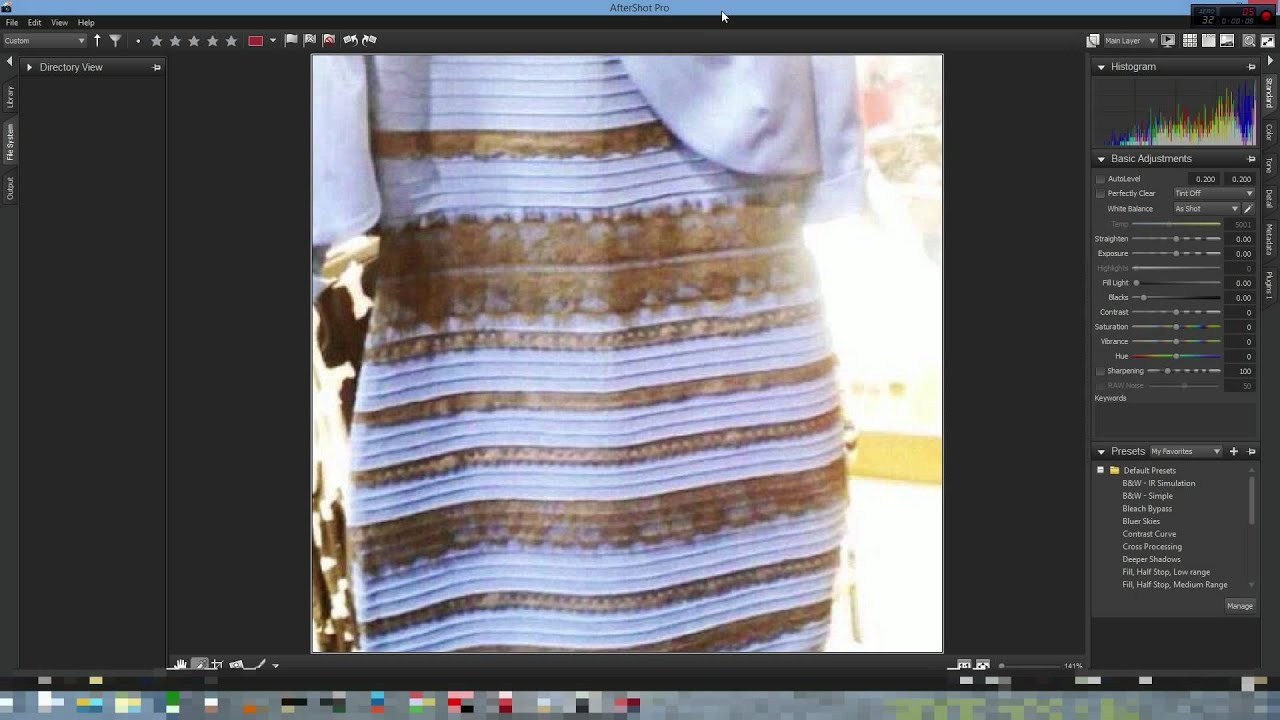 The dress is white - True Color Of The Dress Proof That The Dress Is Blue And Black And Not White And Gold Youtube