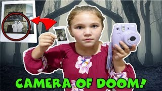 Freaky Friday The 13th! Camera Of Doom! Is My Mom The Doll Maker?