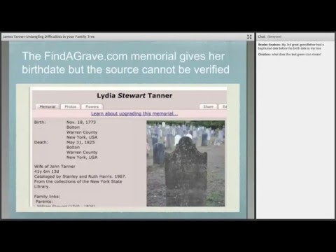 Untangling Difficulties in the FamilySearch Family Tree - James Tanner