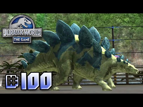 Brawlasaurs!! || Jurassic World - The Game - Ep 100 HD