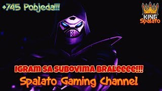 General Spalato... For the Army Roll call!!! -Fortnite Balkan-Target 2400 subsites + 745 win!! #324