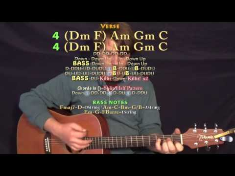 Me and Your Mama (Childish Gambino) Guitar Lesson Chord Chart