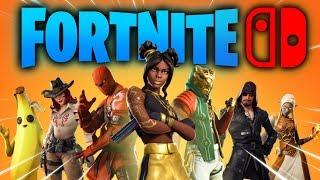 Jugando la Temporada 8 de FORTNITE para Nintendo SWITCH con nuevas SKINS