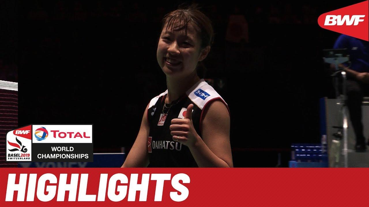 TOTAL BWF World Championships 2019 | Semifinals WS ...