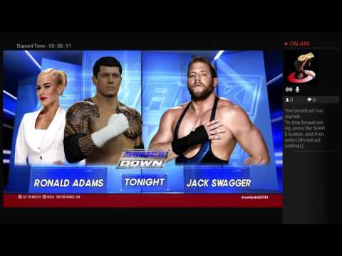 Ronald Adam WWE career
