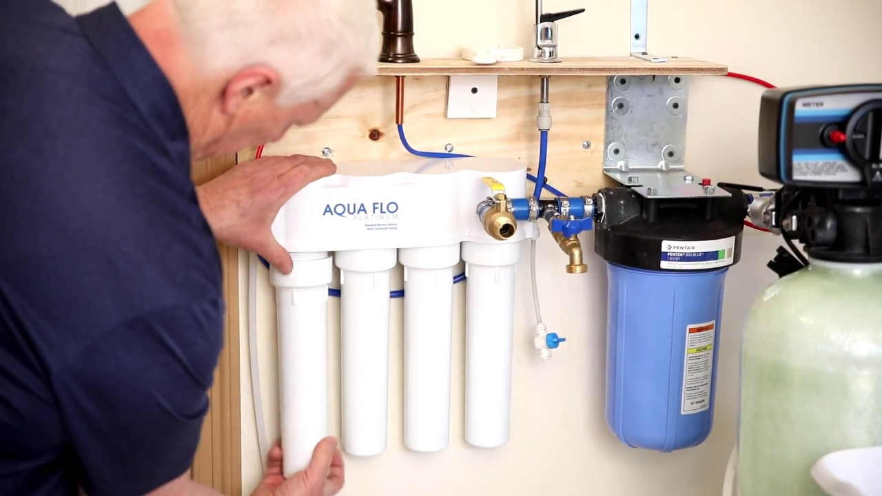 How To Change Reverse Osmosis Filters How To Change Reverse Osmosis System Filters Ro Youtube
