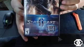 Unboxing StarCraft2 / Battle Chest 2.0
