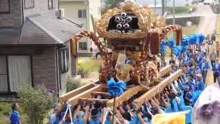 播州の秋祭り2014 夢前 天神社5