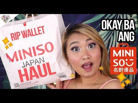 HUGE MINI-SO MAKEUP HAUL   Okay ba ang makeup sa Mini-so?   Mae Layug 2018