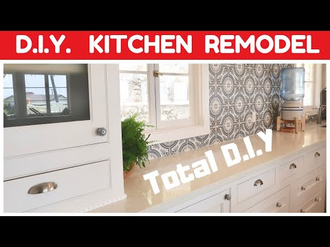 DIY KITCHEN REMODEL – FINALLY DONE – PROJECT SUMMARY